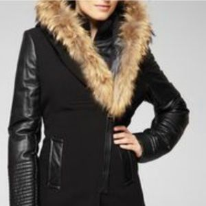 Rudsak real leather and wool